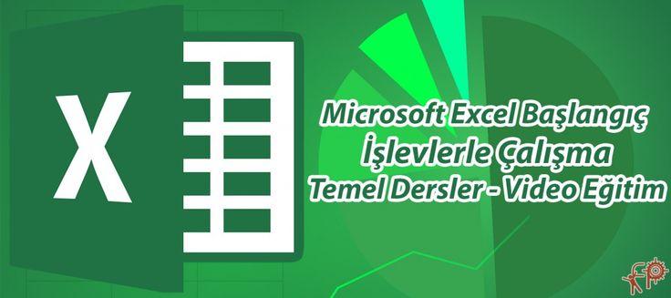 #Excel #Başlangıç – #İşlevlerle #Çalışma – #Video #Eğitim | #Fikir #Proje #Ajans http://www.fpajans.com