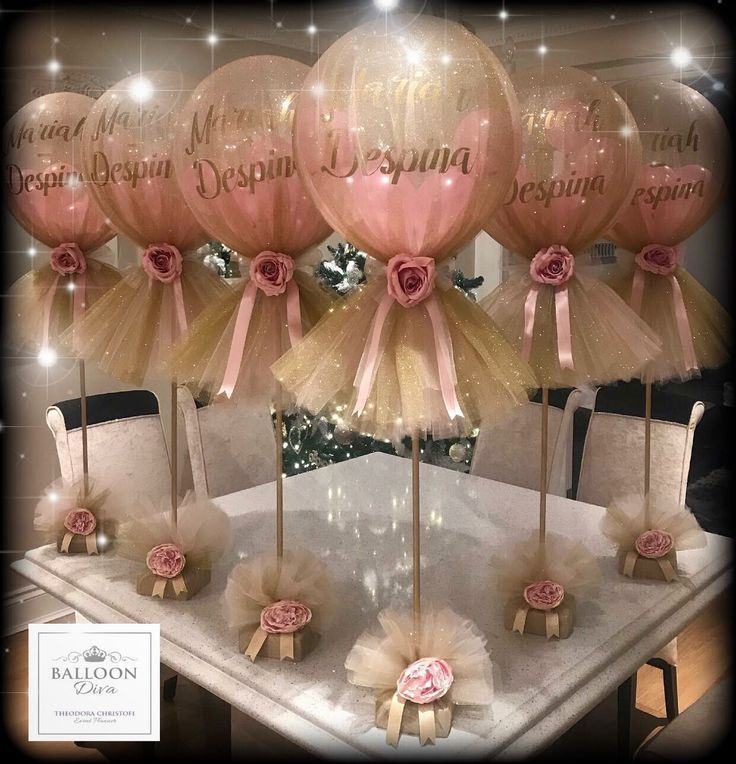 Balloon Decorations, Party