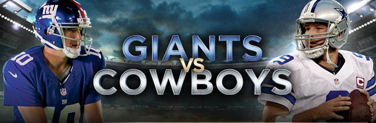 Are you ready Giants fans?  Big Blue opens up the season in Dallas on Sunday Night Football. The game is tonight, Sunday, September 8th at 8:30 PM EDT