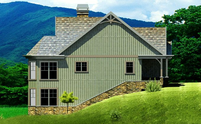 Small Cottage Plan With Walkout Basement House Plans