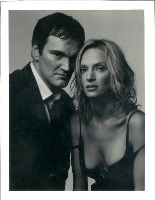 Quentin Tarantino & Uma Thurman / Albert Watson