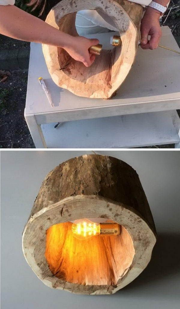 20 kreative Baumstumpf DIY Ideen