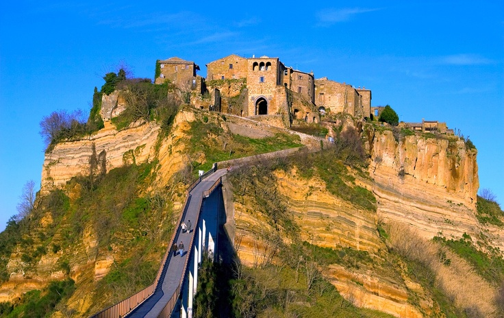 Bagnoreggio, The Dying City.  Italy