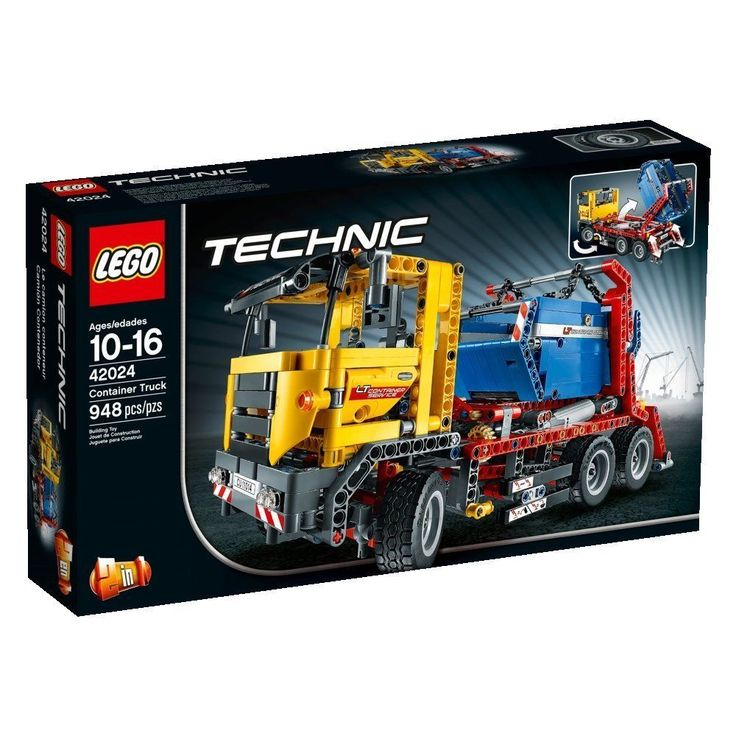 NEW LEGO Technic 42024 Container Truck FREE SHIPPING GAME PLAY BOYS KIDS TOY FUN #LEGO