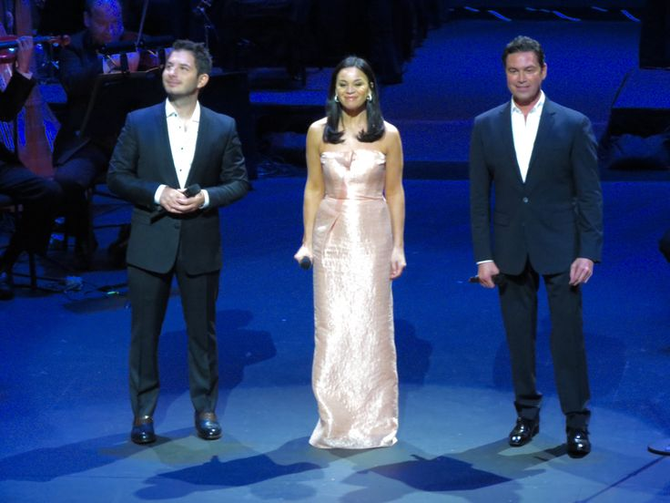 Mario Frangoulis with George Perris and Deborah Meyers at the Dr. Phillips Center of the Performing Arts, Orlando FL 15OCT16