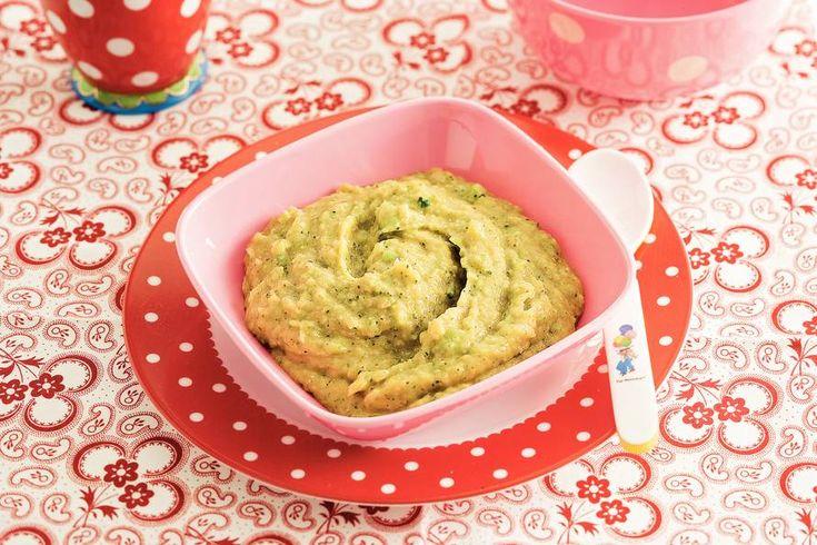 Kijk wat een lekker recept ik heb gevonden op Allerhande! Kabeljauw met broccoli en tomaat (baby 9-12 maanden)