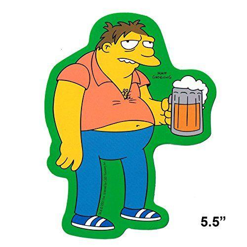 Simpsons Barney Beer Sticker S-SIM-0041