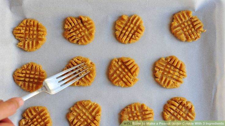 This Peanut Butter Cookie recipe only has 3 ingredients! A straight-forward and easy recipe.
