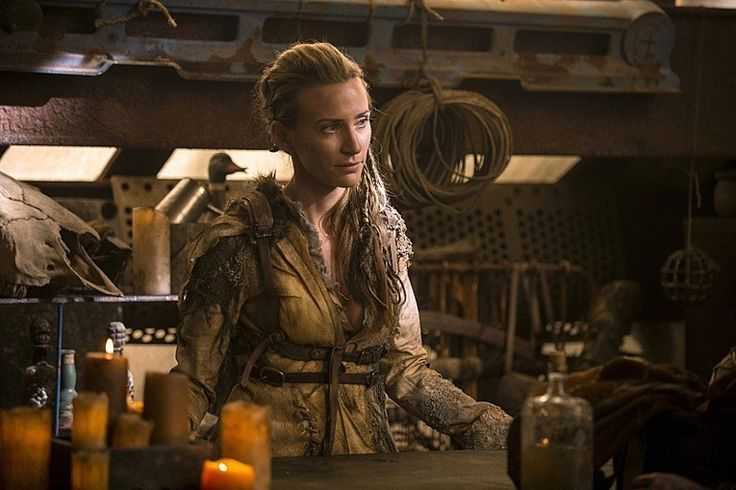 The 100 Niylah Jessica Harmon The 100 Season 3 Premiere Images: An Even Darker Future
