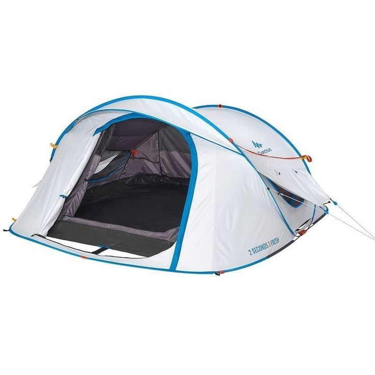 (US Warehouse) Quechua Waterproof Pop Up C&ing Tent 2 Seconds Easy FRESH 3 Man  sc 1 st  Pinterest & 15 best Quechua camping tent images on Pinterest   Tent Tents and ...