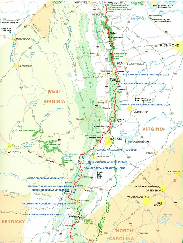 Burlington northern right-of-way strip map
