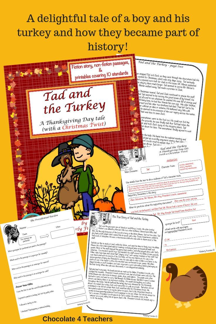 Tad And The Turkey A Thanksgiving Tale With Christmas Twist