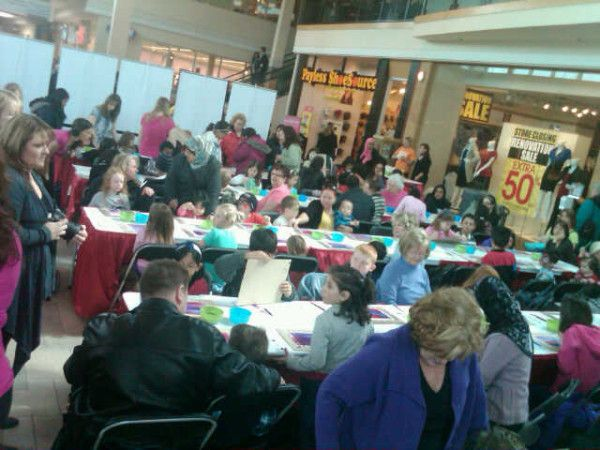 Thanks to Samantha of @StarfishEvents for this picture: #MarchBreak fun times at @billings_bridge right now!     Events all week long #ottawa!  http://billingsbridge.com/march-break/