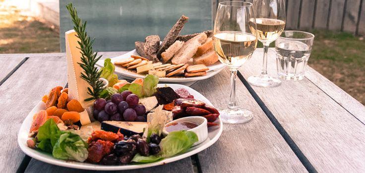 Award-winning wine and Kasselshoop's traditional artisan cheese tasting at Rhebokskloof Wine Estate