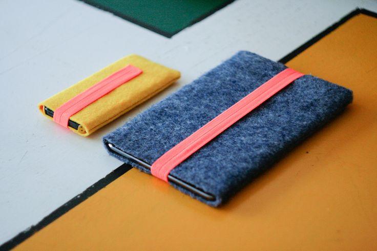 ipad and iphone felt covers