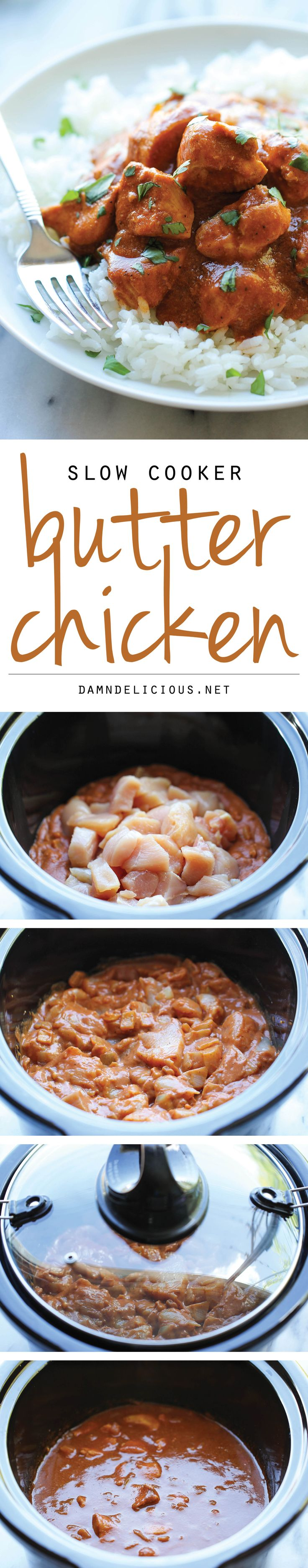 best jordan 1 colorways Slow Cooker Butter Chicken   Skip the take out and try this super easy  lightened up creamy butter chicken right in the crockpot