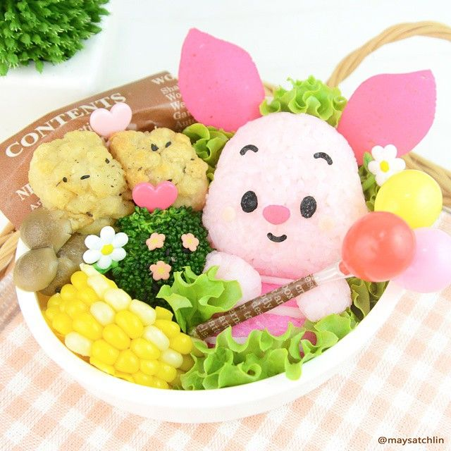 Top Cute Bento Food Art from Maysatch  sc 1 st  Pinterest & Best 25+ Cute bento boxes ideas on Pinterest | Cute bento Kawaii ... Aboutintivar.Com