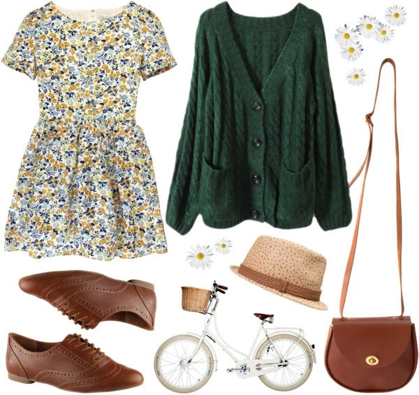 """""""Forest floral"""" by hanaglatison ❤ liked on Polyvore"""