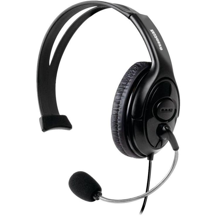 dreamGEAR(R) DG360-1721 Xbox 360(R) X-Talk Solo Wired Headset