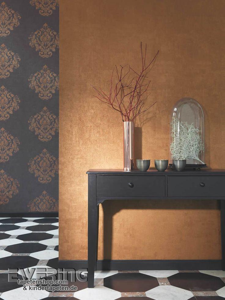 die 25+ besten ideen zu wandfarbe gold auf pinterest | goldene ... - Wohnzimmer Deko Gold