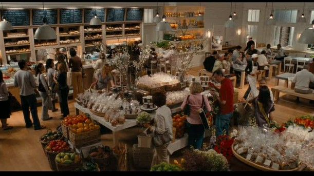 Jane's Bakery from the movie 'It's Complicated'. Jane is played by Meryl Streep.