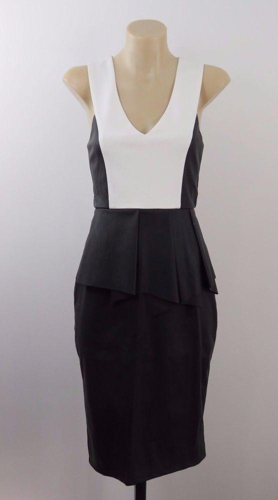 NWT Size M 10 Ladies Black Pencil Dress Cocktail Evening Wedding Chic Design #Maxim #WigglePencil #Cocktail