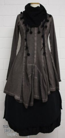 Rundholz black label winter 2013, sleeved tunic