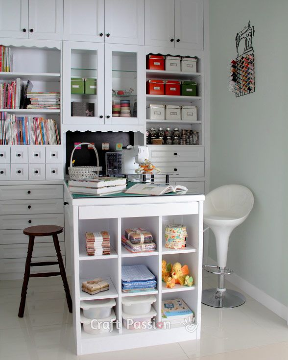 25 unique sewing room design ideas on pinterest craft organization office room ideas and craftroom ideas - Sewing Room Design Ideas