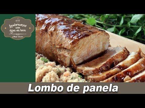Lombo de panela - Lembranças com água na boca - Chef Taico