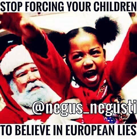 Stop forcing your children to believe in European lies