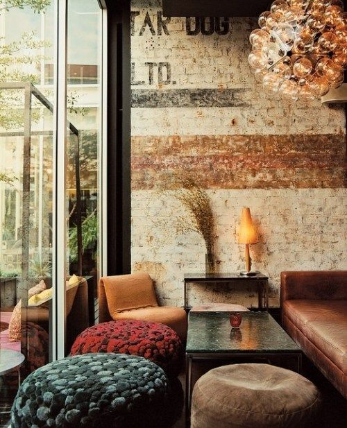 20 Interesting Wall Styling Ideas Messagenote.com Small living room like seating areas eclectic low dividers here and there. Cool pictures on the wall of interesting people.
