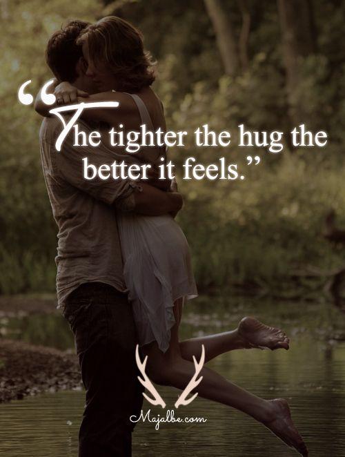 17 Best Hug Quotes On Pinterest