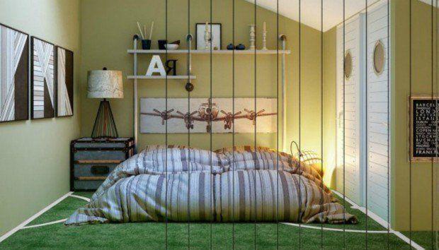 Αυτά τα Ξεχωριστά Εφηβικά Υπνοδωμάτια θα σας Δώσουν Έμπνευση για το Δικό σας