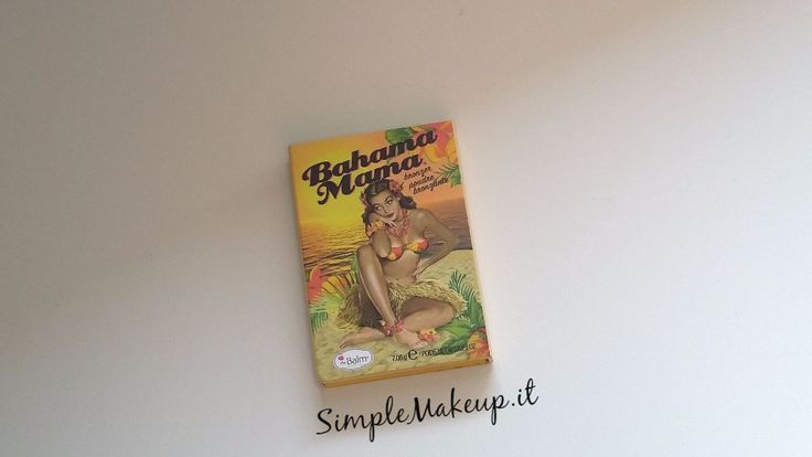#TheBalm #BahamaMama #Bronzer  http://www.simplemakeup.it/2017/06/review-bahama-mama-bronzer-della-the-balm/