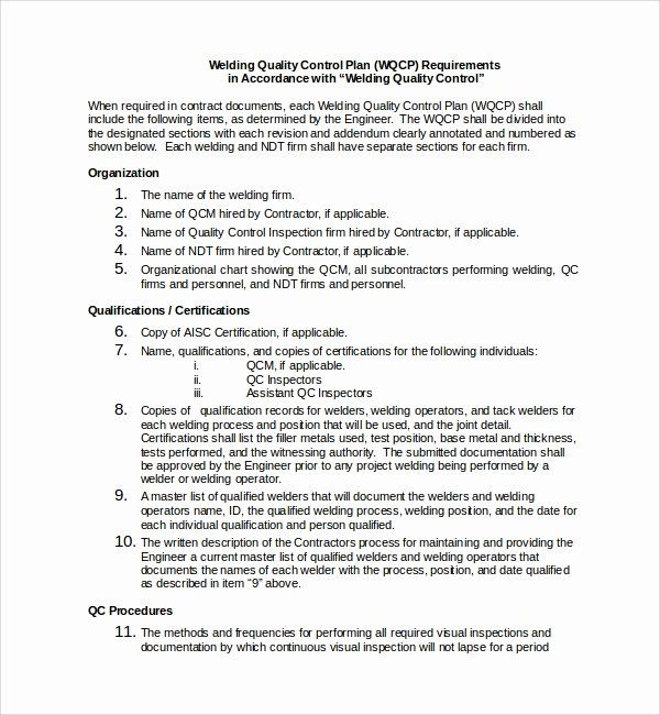 Quality Control Plan Template Elegant Free Templates How To Plan Business Plan Template Sample Business Plan