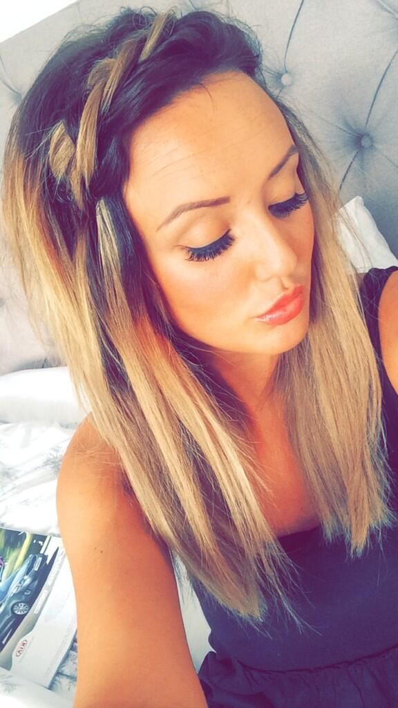 Charlotte Crosby hair. Love this look!!!