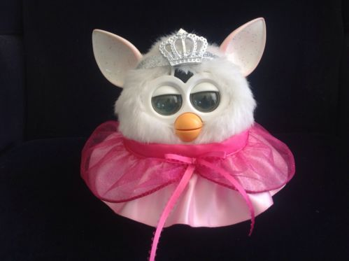 """Clothes for Furby or fits the new Furby boom handmade outfit """"Pink Princess"""""""