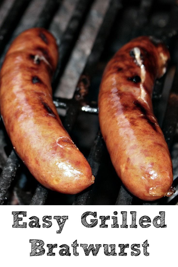 These Easy Grilled Bratwurst are the perfect meal to make for your family! Doing more than just grilling Bratwurst adds so much more flavor to them! AD