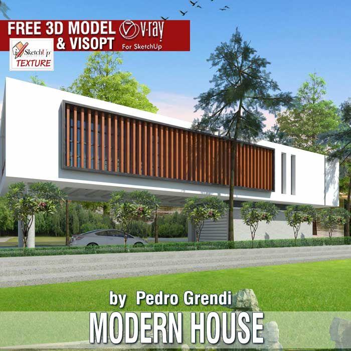 Les 243 meilleures images du tableau sketchup free 3d for Modele maison sketchup