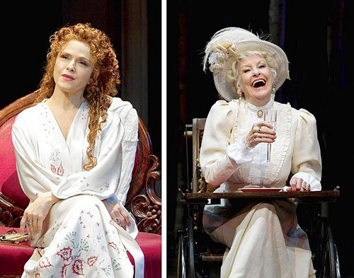 """Bernadette Peters And Elaine Stritch in """"A  Little Night Music"""", I wish I could have seen that!"""
