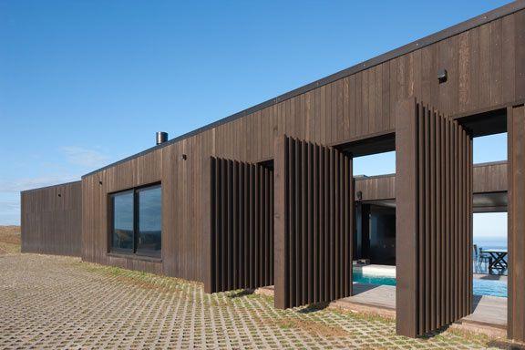 Une maison sur la falaise en nouvelle z lande ocean for Hotel design zelande