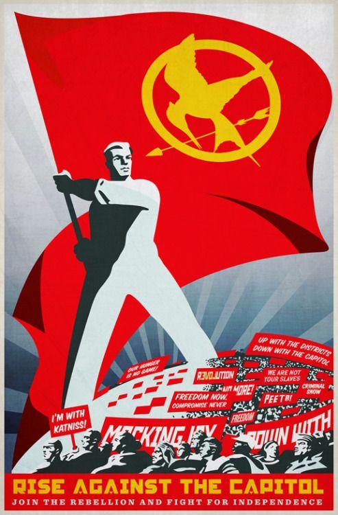 the hunger games propaganda | Tumblr