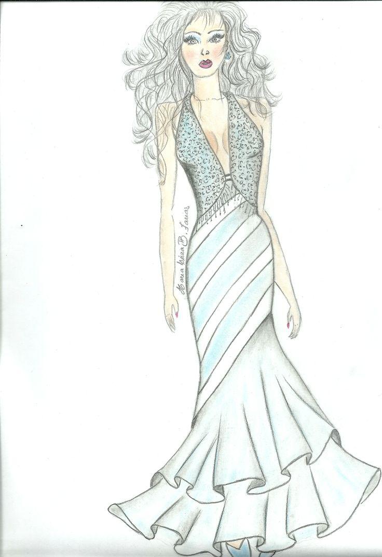 Meu desenho de Moda, Ateliê de Costura Novo Visual!