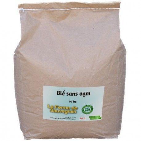 Une Idée pour nos animaux :  Blé sans OGM - 10 kg Blé sans OGM, ni colorant ni conservateur. Produit en France http://www.lafermesauvegrain.com/alimentation-poules-bio-sans-ogm/30-ble-sans-ogm.html