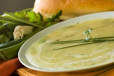 Leek,Avocado and Zucchini Soup ....Tried it tonight and loved it !