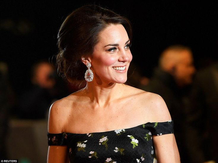 Beautiful brunette: There was an air of understated elegance about Kate's image