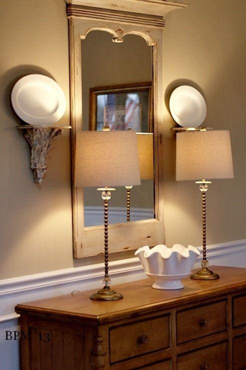 Tall Kitchen Tables Flour Sack Towels Best 25+ Buffet Lamps Ideas On Pinterest | Foyer Table ...