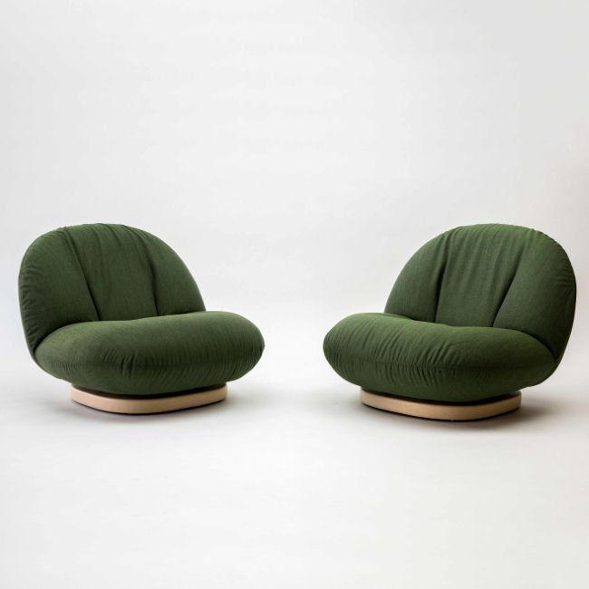 Pair of Pacha Chairs, 1975 By Pierre Paulin Edition Mobilier International | ELLE Decoration NL