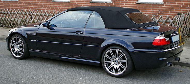 File:BMW M3 E46 Cabrio side.JPG
