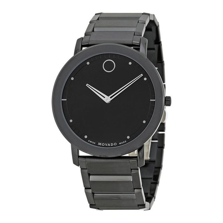 Movado Men's 0606882 Sapphire Black Stainless Steel Watch